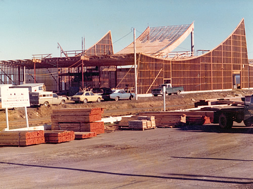 Columbia River Maritime Museum Under Construction 1976